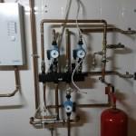 Установка автономного отопления дома от дровяного и электрического котла, продажа оборудования, монтаж труб