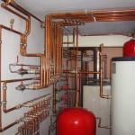 Автономная котельная системы отопления коттеджа, продажа, монтаж, газовое отопление, водяное, дровяное автономное отопление коттеджа.
